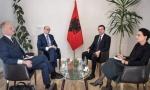 JEDAN DETALj SA SASTANKA SA KURTIJEM PRIVUKAO PAŽNjU: Da li to Norveška podržava stvaranje velike Albanije? (FOTO)