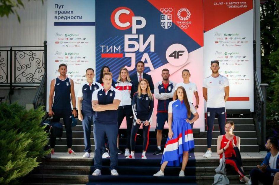 JEDAN TIM, ISTI CILJ: Ovako će izgledati srpski sportisti na Olimpijskim igrama u Tokiju FOTO