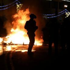JERUSALIM JE SINOĆ GOREO: Jevrejski i arapski demonstranti nasrnuli na policiju, mnogo uhapšenih (VIDEO)