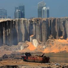 JEZIVE POSLEDICE EKSPLOZIJE U BEJRUTU: Stravičan udar stvorio krater veličine fudbalskog terena (VIDEO)