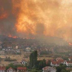 JEZIVE SCENE U SEVERNOJ MAKEDONIJI! Pendarovski naredio vojsci da pomogne u gašenju požara (FOTO)