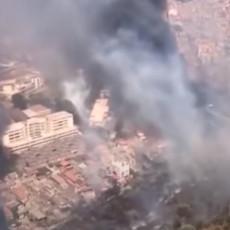 JEZIVI SNIMCI POŽARA NA SICILIJI: Palermo zatrpan pepelom, turisti panično pobegli na plaže (VIDEO/FOTO)
