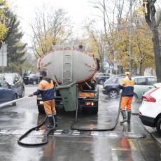 JKP Gradska čistoća u zimskom režimu rada: Grad Beograd darovao novih 25 cisterni za održavanje ulica (FOTO/VIDEO)