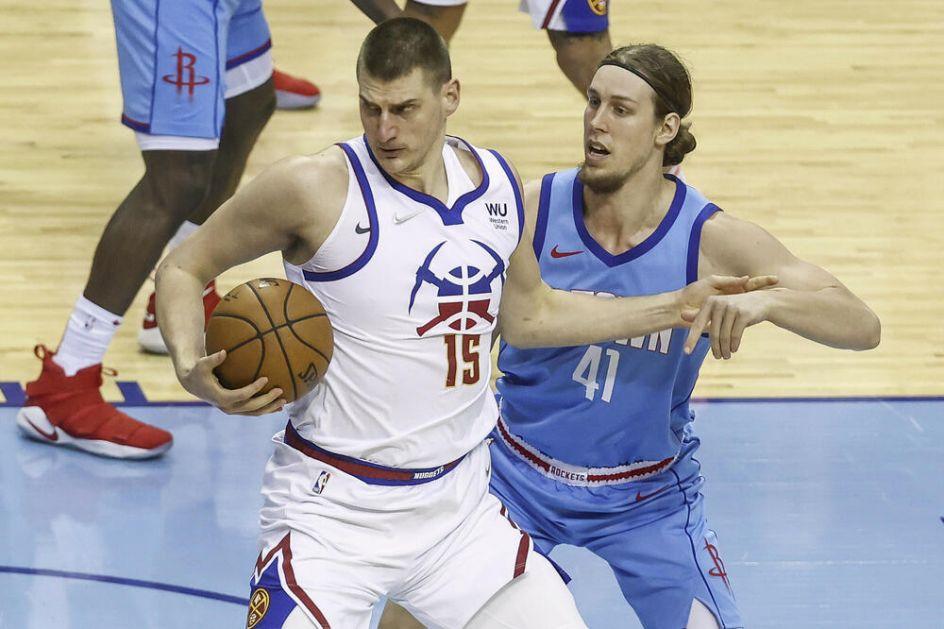 JOKIĆ PO OBIČAJU NAJBOLJI! Srpski centar vodio Denver do pobede, Bjelica epizodista, Bobi nije igrao! VIDEO