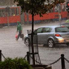 JOŠ JEDAN KIŠNI DAN PRED NAMA: Kišobrani i kabanice danas obavezni, poznato kada nas očekuje razvedravanje