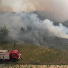 JOŠ JEDAN POŽAR U SRBIJI: Gori više desetina hektara šume, na terenu 100 vatrogasaca