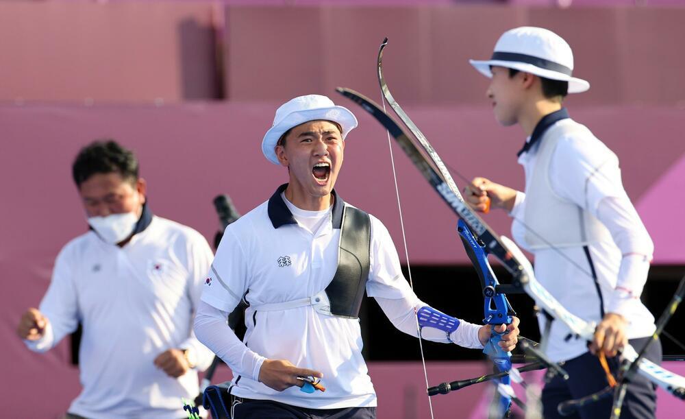 JOŠ JEDNO ZLATO IDE U JUŽNU KOREJU: Mešoviti dubl na najvišem pobedničkom postolju u streličarstvu na Olimpijskim igrama