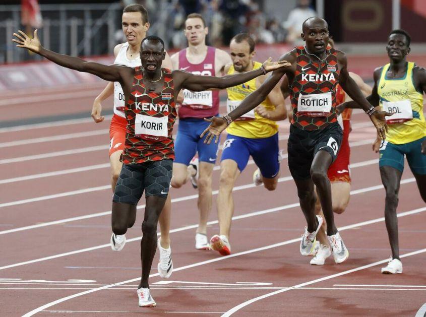 JOŠ JEDNO ZLATO IDE U KENIJU: Emanuel Korir olimpijski šampion u trci na 800 metara
