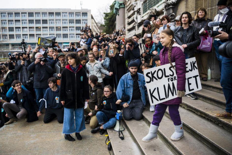 JOŠ NIŠTA NISTE VIDELI: Greta Tunberg poslala poruku svetskim liderima i najavila dolazak u Davos