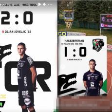 JOVELJIĆ - MAŠINA! Bivši napadač Zvezde nastavlja da teroriše Austriju - 2 gola mladog napadača
