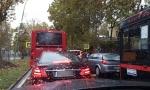 JUTARNjI ŠPIC U BEOGRADU: Kolona vozila u Bulevaru oslobođenja (FOTO / VIDEO)