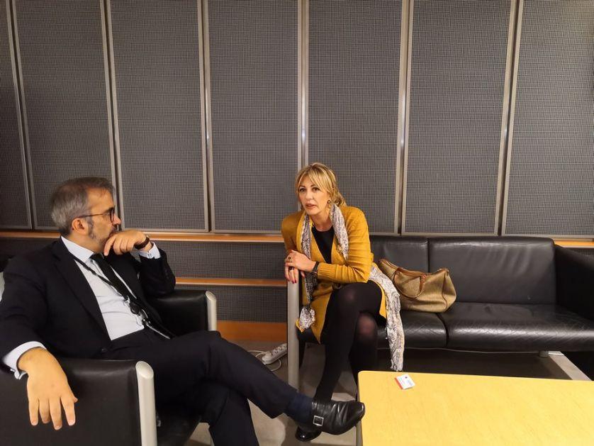Jadranka Joksimović sa članovima Evropske narodne partije u Briselu