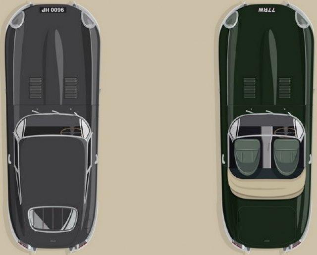 Jaguar E-type 60 Collection FOTO