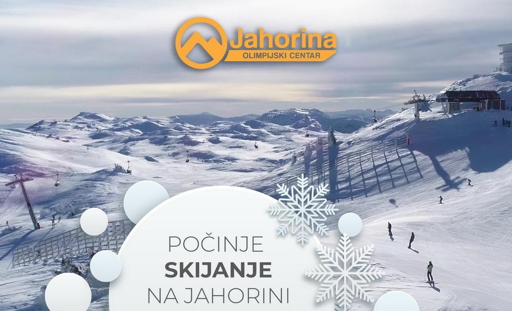 Jahorina - ski sezona počinje u nedelju 29.novembra