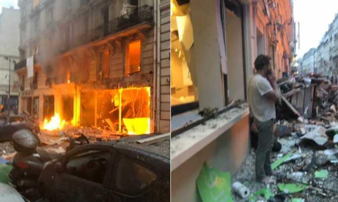 Jaka eksplozija u centru Pariza, ima žrtava FOTO