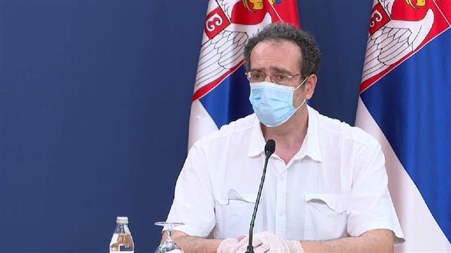 Janković: Stagnacija broja zaraženih, više pacijenata na respiratoru jer se bolest razvija