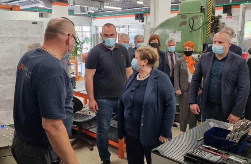 Janušević najavio proširenje proizvodnog pogona Inmolda i novo zapošljavanje radnika