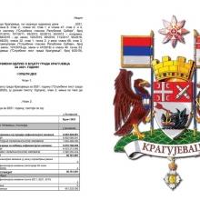 Javna rasprava o budzetu Kragujevca do 17. juna
