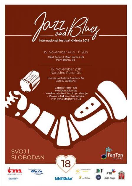 Jazz i Blues Internacionalni festival večeras u Kikindi