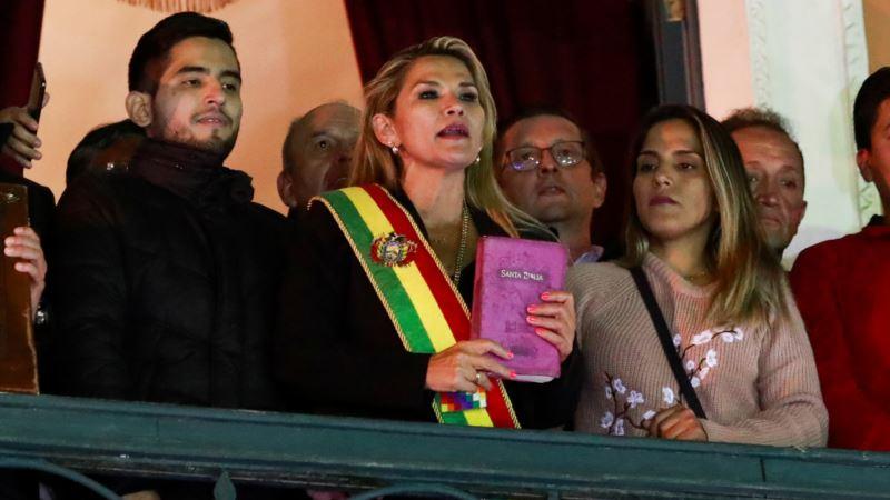 Jeanine Anez se proglasila privremenom predsjednicom Bolivije
