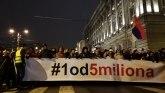 """Jedan od pet miliona"""" šesti put - Protest održan i u Gornjem Milanovcu"""