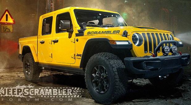 Jeep Scrambler pick-up na sajmu u Los Anđelesu