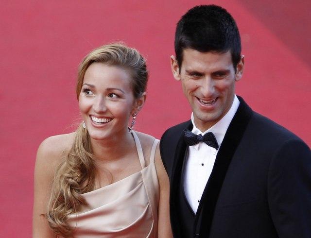 Jelena i Novak slatkiše zamenili drugim grickalicama