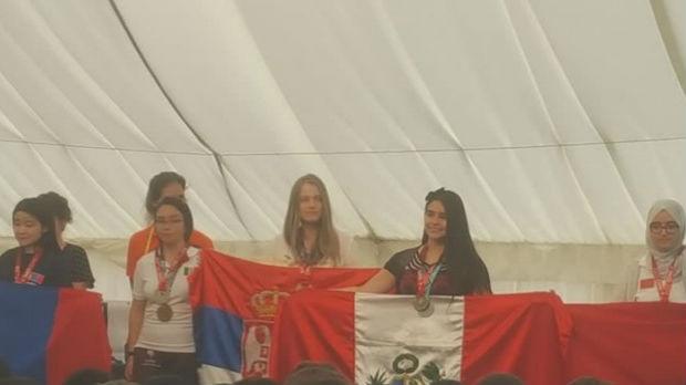 Jeleni Ivančić posebno priznanje na matematičkoj olimpijadi