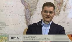 Jeremić: Ne treba isključiti mogućnost pritisaka u vezi sa Republikom Srpskom