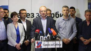 Jeremić: Podrška ideji SZS nije ni izbliza tolika da bi uzdrmala aktuelnu vlast