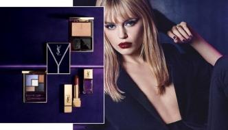 Jesenski make-up u znaku je upečatljive ljubičaste boje!
