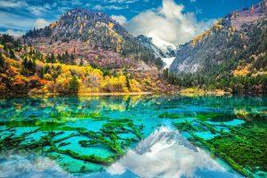 Jezero Pet boja – neobičan prirodni fenomen u Kini