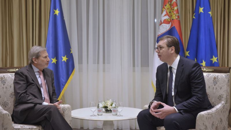 Johanes Han stigao u Beograd, razgovarao s Vučićem