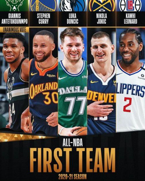 Trojica Evropljana u idealnoj petorci NBA lige