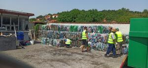 Još 11,5 tona PET ambalaže u Pirotu poslato na reciklažu