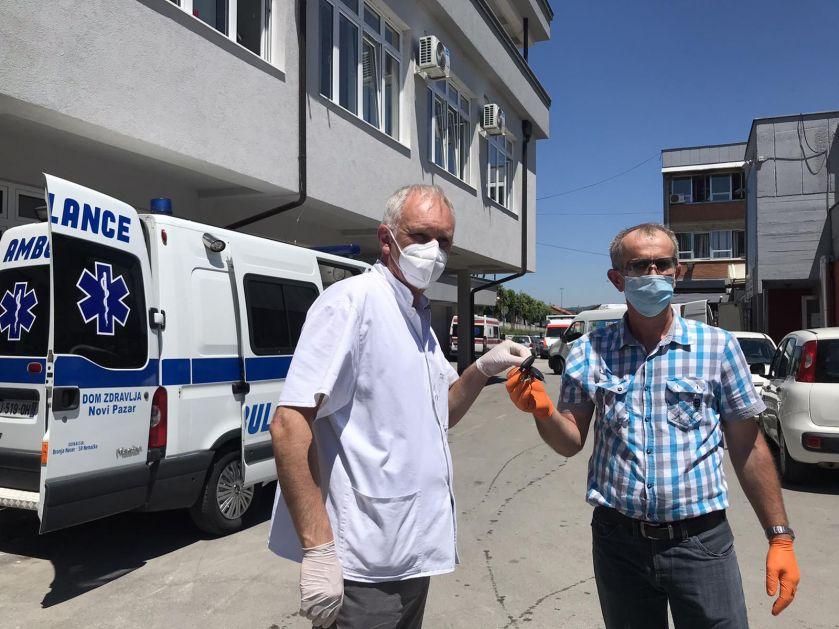 Još jedno sanitetsko vozilo donirano OB u Novom Pazaru
