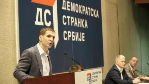 Jovanović: Politiku dva jarca na brvnu zameniti dijalogom vlasti i opozicije