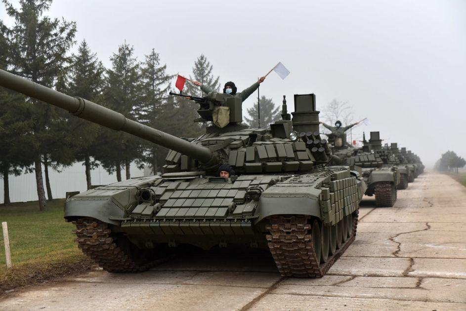 Jovanović: Tenk T-72 MS  trenutno najbolji na Balkanu