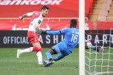 Jovetić strelac, Monako potopio Dižon sa tri gola u nastavku