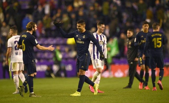 Jović ušao u nadoknadi – minimalac Reala protiv Valjadolida