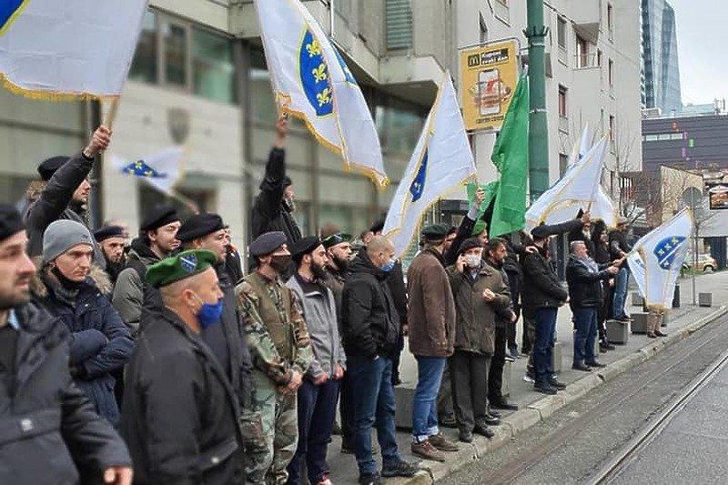 Jučer ispred Ambasade Slovenije u Sarajevu održani protesti, Janez Janša ih ocijenio kao ekstremne
