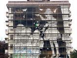 Junakinja knjige leskovačkog pisca na velikom muralu u Beogradu