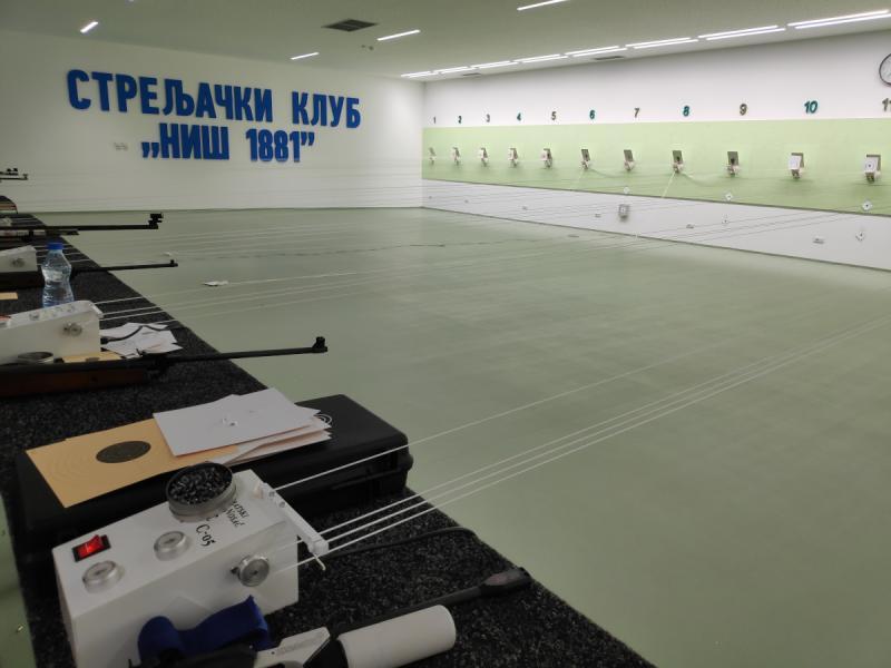 Juniorke Streljačkog kluba Niš na završnici Kupa Srbije