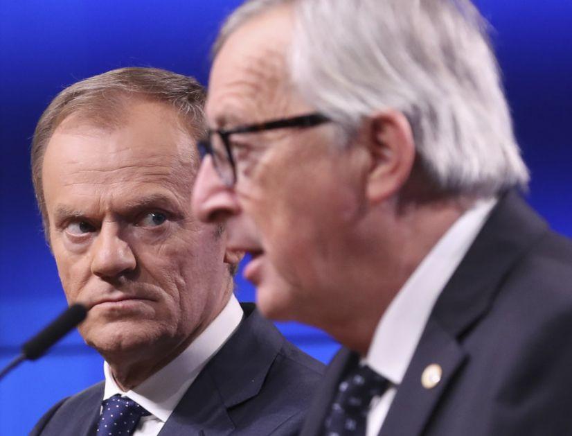 Junker obavestio pismom Tuska o dogovoru o Bregzitu