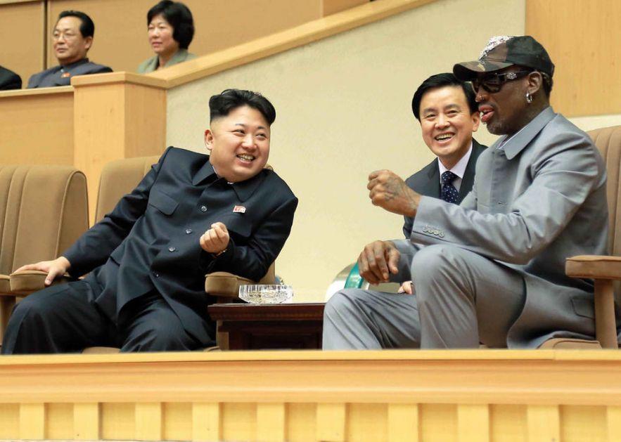 KAD SE OVA ŽENA POJAVI TO JE LOŠ ZNAK: Rodman ubeđen da je Kim Džong Un živ i zdrav