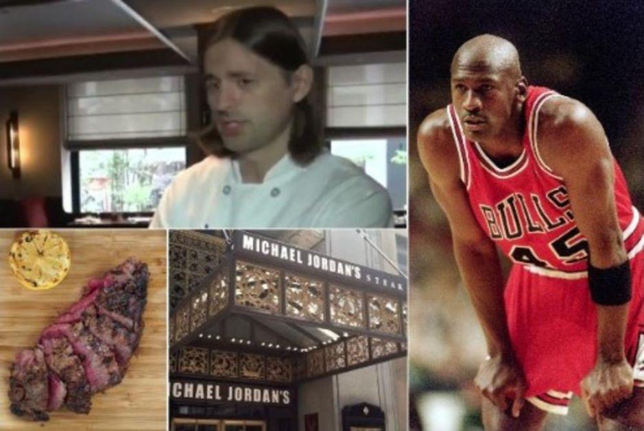 KAD SRBIN KUVA, LEGENDARNI DŽORDAN LIŽE PRSTE: Nekada su u negovim jelima uživali Vidić i ostali asovi Zvezde, a sada radi u PRESTIŽNOM restoranu najboljeg košarkaša svih vremena! (VIDEO)