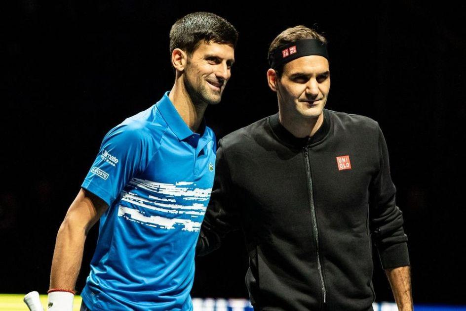 KADA JE TEŠKO VIDI SE KO JE ČOVEK! Federer podržao potez Đokovića za donaciju od milion evra u borbi protiv korone!