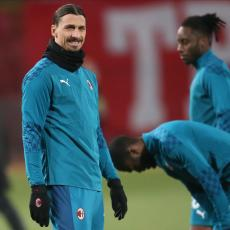 KAKAV MALER ZA MILAN: Bez Ibrahimovića do kraja sezone