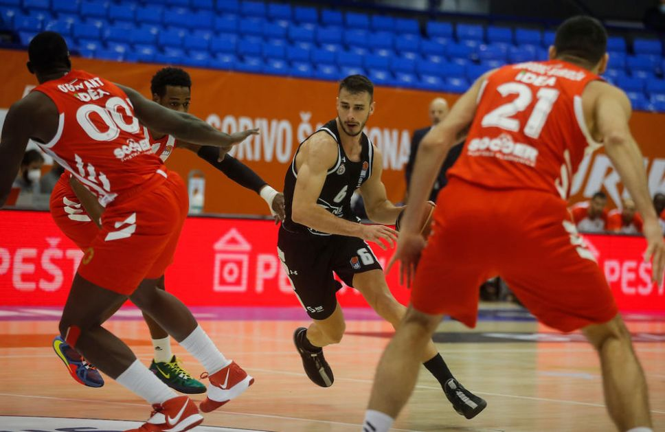KAKVA DRAMA U VEČITOM DERBIJU: Ovako je izgledao poslednji minut duela Partizana i Zvezde VIDEO