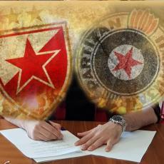 KAKVA TRANSFER BOMBA! Nezamenjivi igrač Partizana prešao u CRVENU ZVEZDU! Pojavile se i slike potpisivanja (FOTO)